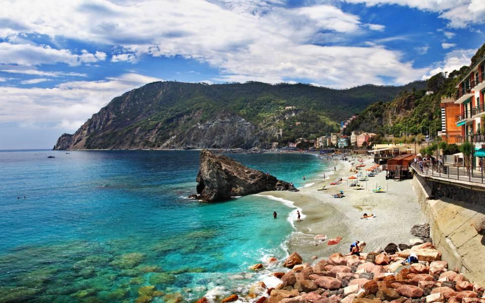 Monterosso Beach - Cinque Terre, Ιταλία