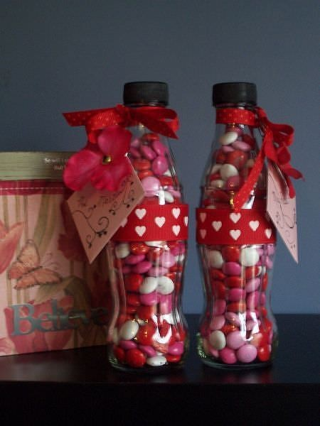 Valentine Candy Craft Ideas