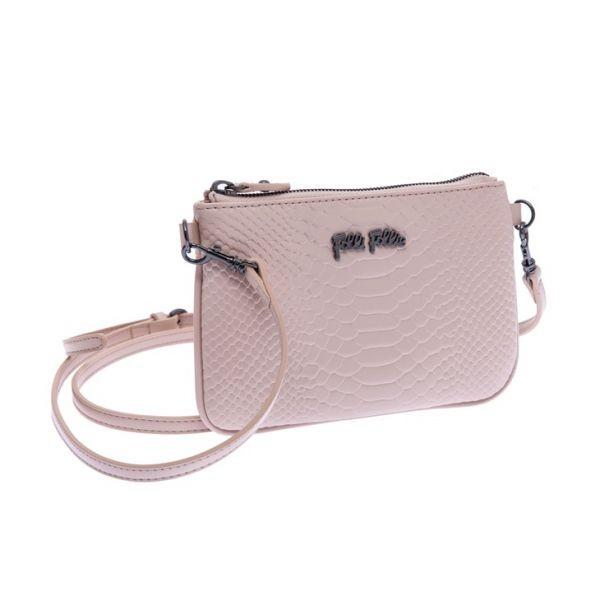 "f91f50f8ed Γυναικεία τσάντα Folli Follie ροζ απαλό. Τιμή  51€ ➡ Αγόρασέ τη. Δες  επίσης  ""Άνοιξη 2016  Τα καλύτερα γυναικεία flat παπούτσια! Online αγορά!»"