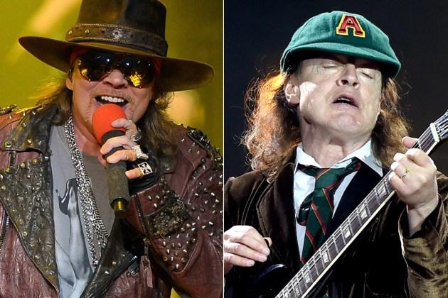 Συνέντευξη Angus Young/Axl Rose στο NME για AC/DC