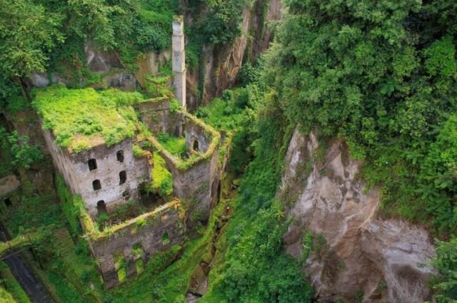 abandoned mill sorento italy
