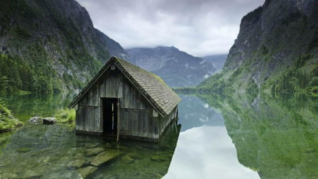 fishing hut germany