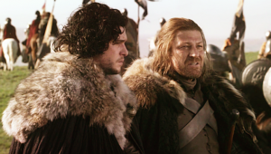 game-of-thrones-jon-snow-ned-stark-father-mother-sean-bean-hbo