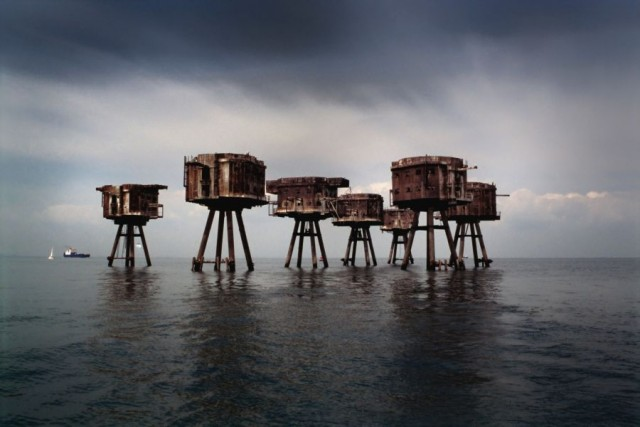 maunsell forts england