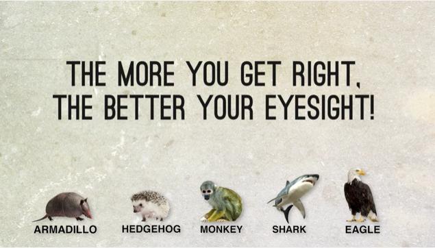 Είναι η όραση σου καλύτερη από αυτή των ζώων  Δες το βίντεο και κάνε το τεστ ! 800b2a184c0