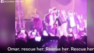 Σταμάτησε τη συναυλία για να σώσει κοπέλα που παρενοχλούνταν σεξουαλικά! (βίντεο)