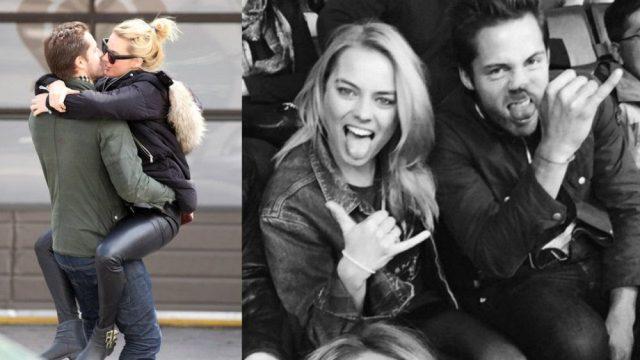 H Margot Robbie είναι έγκυος και μόλις είδαμε για πρώτη φορά τον κούκλο σύντροφο της!