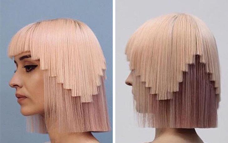 βγαίνω με μακριά μαλλιά
