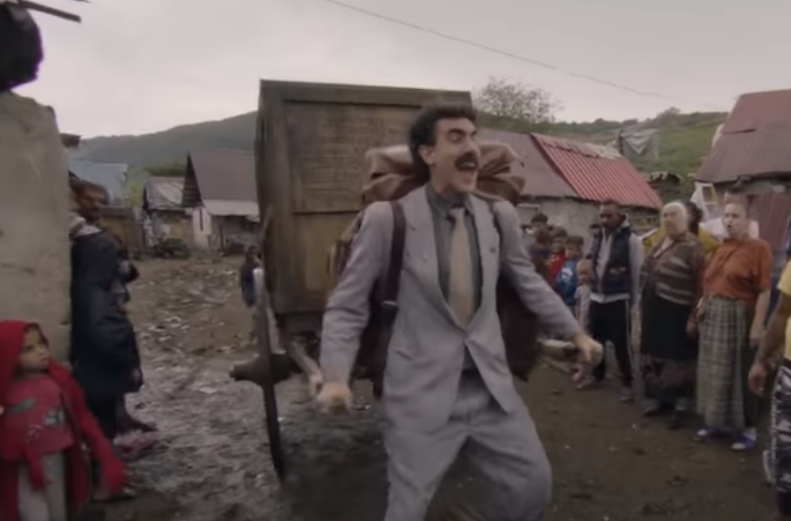 Borat 2: Το trailer είναι εδώ και έχουμε ήδη κλάψει από το ...